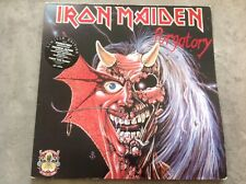 """Iron Maiden 2 LP Vinyl 12 """" Purgatory - Maiden Japan / Vinyl-mint"""