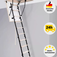 Dachbodentreppe 70 cm Bodentreppe Speichertreppe Holz Treppe Klapptreppe