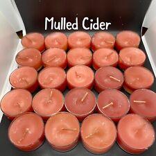 2 Dozen Mulled Cider Partylite/Cccc Seconds Tealights