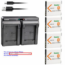 NP-BN1 BC-CSN Battery or Dual Charger for Sony Cyber-shot DSC-TX200V TX20 TX30