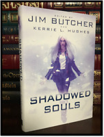 Shadowed Souls ✎SIGNED✎ by JIM BUTCHER ++ New 1st Hardback Edition First Print