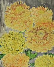 Blumenstillleben mit gelben Blüten