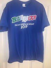 Wilmington Blue Rocks Italian Heritage Night 2019 TShirt Size Adult XL