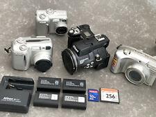 lot 4 x early digicam Nikon COOLPIX 5700 COOLPIX 4800ED COOLPIX 775/ COOLPIX 885