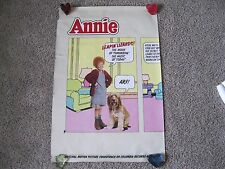 Vintage (1982) Record Store Promotional Poster - Annie Motion Picture Soundtrack