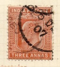 India 1902-11 Early Issue Fine Used 3a. 165563