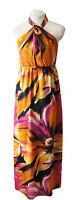 Lili London Halterneck Summer Floral Maxi Dress