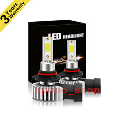 9006 HB4 2000W LED Headlight Kit Bulb 6000K High Power vs 120W Fog Lights Bright