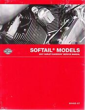 2007 Harley Softail FLS FXC Repair Service Workshop Shop Manual Book 99482-07