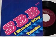 "SBB-I wonder why/TUMBA - 7"" 45 Amiga (4 56 312)"