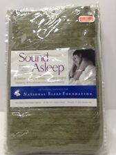 Sound Asleep Room-Darkening Noise-Reducing Backtab Window Panel Green @