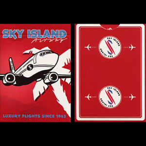 BRAND NEW CARDS - Sky Island Deck (Red) by The Blue Crown