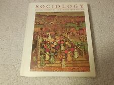 Sociology by Wendy Drew Wallace and Richard Cheever Wallace (1985, Hardcover)