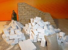 Krippenzubehör, Treppenstufen Set 142 teilig, Ruinen - Bruchsteine, Krippenbau