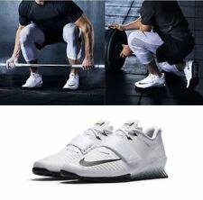 $200 New Nike Romaleos 3 Power Weight Lifting Training Crossfit White Mens Sz 14