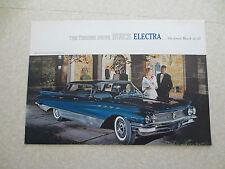 Original 1960 Buick Electra cars advertising brochure