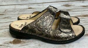 Finn Comfort Women's Sansibar Slide Sandal - Bronze Size 42 44 NWB