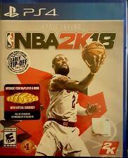 NBA 2K18 * PLAYSTATION 4 * BRAND NEW FACTORY SEALED!