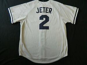 Official Derek Jeter New York Yankees Road Gray Jersey 2X Reg. $109.99 CLEARANCE