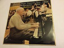 BRAHMS BACKHAUS VPO BOHM - PIANO CONCERTO No.2 (1967) Decca WB ED1 LP SXL 6322