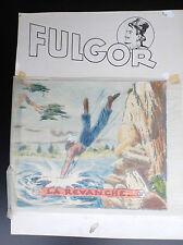 Superbe planche originale de couverture Fulgor  N° 23 Artima