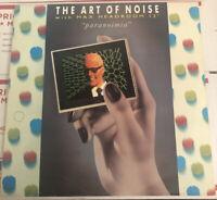 "The Art Of Noise With Max Headroom - Paranoimia 12"" Used NM"