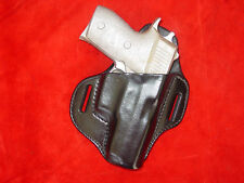 Sig Sauer P 220 compact hi rise leather holster black