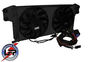 2012-14 SUPERCHARGED ZL1 CAMARO AFCO 80283PROB HEAT EXCHANGER wi/ DUAL FAN KIT