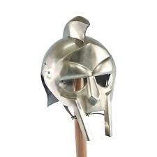 Gladiator Armor Steel Helmet (Without Liner) 20g - Polished Finish - With Spiked