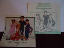"Avon ""Childhood Moments"" 1983 Calendar  Unused"