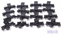 LEGO - 16 Puffer mit Kupplung und Magnet für 9V / RC Eisenbahn  91968c01 NEUWARE