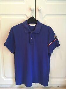Mens Moncler Short Sleeve Polo Shirt