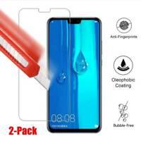 9H Tempered Glass Screen Protector Film For Huawei Y9 2019 Y3 Y6 Y7 2018 Y Max