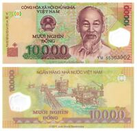 Vietnam 10000 Dong 2015 P-119i  Polymer Banknotes UNC