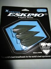 """Zwickey Eskimo Glue On Broadheads 11/32"""", 125 grains, 3 pack"""