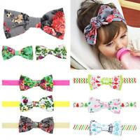 Bow Knot Floral Flowers Hair Band Headband Turban Hair Clip