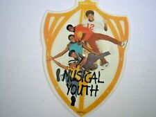 "MUSICAL YOUTH 007 UK 7"" shaped single picture disc 1983 ex+"