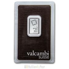 More details for valcambi 5 gram platinum bar minted