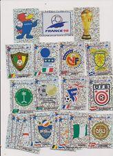 PANINI  WM 1998 .. 28 verschiedene wappen neu... .
