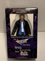 Buffy The Vampire Slayer SPIKE Action Figure Ikon Exclusive Blue Shirt Moore
