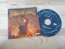 CD metal Cradle of Filth-Nymphetamine (14 chanson) roadrunner-Disc/livret only -