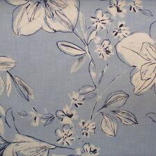 Cortinas y visillos color principal azul dormitorio infantil 100% algodón