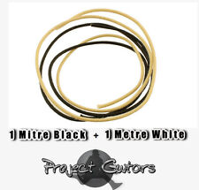 Guitar Wire 22 gauge - vintage style cloth covered - utility pack  2 Metre