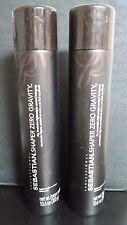 2X  SEBASTIAN SHAPER ZERO GRAVITY LIGHTWEIGHT HAIRSPRAY 10.6 oz (300 g)
