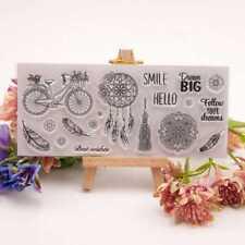 Dream Catcher Transparent Clear Silicone Stamp for DIY Scrapbooking Photo Album