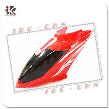 1X RED HEAD COVER CANOPY FOR SYMA S031/ S031G RC HELICOPTER SPARE PARTS S031-01