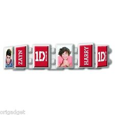BRACELET 1 D ONE DIRECTION OFFICIAL EXPANDABLE BRACELET white red 1DBRAC02