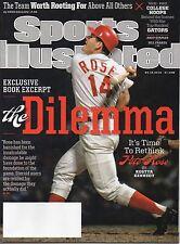 PETE ROSE Sports Illustrated CINCINNATI REDS 3/10/14 THE DILEMMA Book EXCERPT