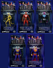 ALEX ROSS Series 1 JUSTICE LEAGUE Figures ALL 5 FLASH Bizarro CHEETAH DC Direct