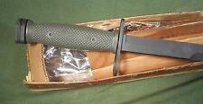 OD Green Grip M7Bayonet 1973 Knife Imperial Mint Vietnam War NOS Original Box